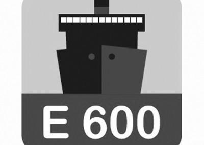 Σχάρες φρεατίων υδροσυλλογής E600