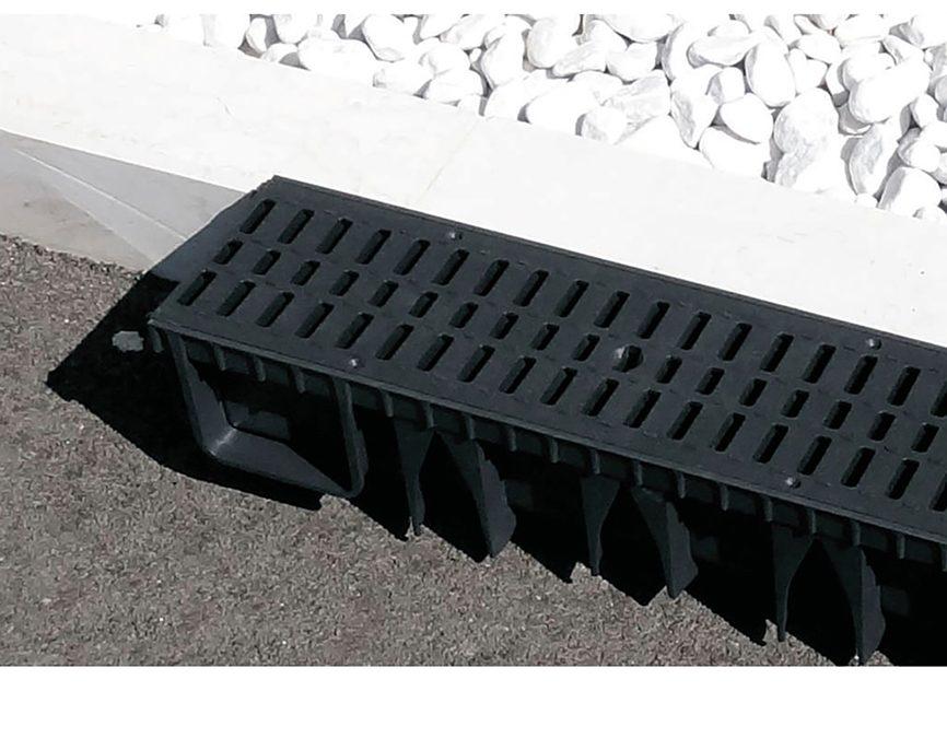 Πλαστικά κανάλια αποστράγγισης ABS13×100